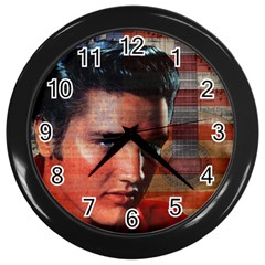 Elvis Presley Wall Clocks (Black)