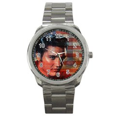 Elvis Presley Sport Metal Watch