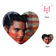 Elvis Presley Playing Cards (Heart)