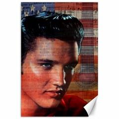 Elvis Presley Canvas 24  x 36