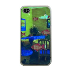 Natural habitat Apple iPhone 4 Case (Clear)