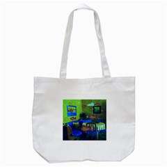 Natural habitat Tote Bag (White)