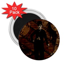 Charlie Chaplin  2.25  Magnets (10 pack)