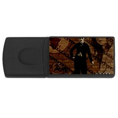 Charlie Chaplin  USB Flash Drive Rectangular (2 GB)