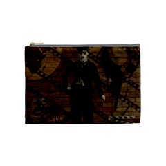 Charlie Chaplin  Cosmetic Bag (Medium)