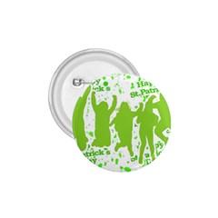 Saint Patrick Motif 1.75  Buttons