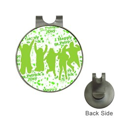 Saint Patrick Motif Hat Clips with Golf Markers