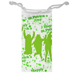 Saint Patrick Motif Jewelry Bag