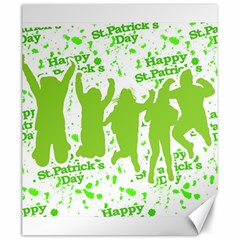 Saint Patrick Motif Canvas 20  x 24