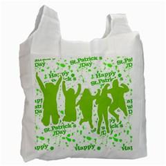 Saint Patrick Motif Recycle Bag (Two Side)