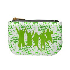 Saint Patrick Motif Mini Coin Purses