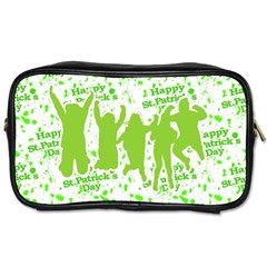 Saint Patrick Motif Toiletries Bags 2-Side