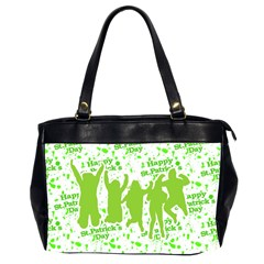Saint Patrick Motif Office Handbags (2 Sides)