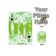 Saint Patrick Motif Playing Cards 54 (Mini)