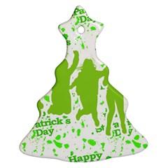 Saint Patrick Motif Ornament (Christmas Tree)