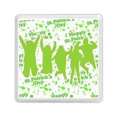 Saint Patrick Motif Memory Card Reader (Square)