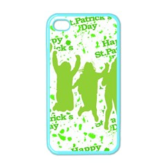 Saint Patrick Motif Apple iPhone 4 Case (Color)