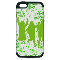 Saint Patrick Motif Apple iPhone 5 Hardshell Case (PC+Silicone)