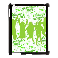 Saint Patrick Motif Apple iPad 3/4 Case (Black)