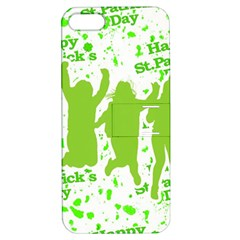 Saint Patrick Motif Apple iPhone 5 Hardshell Case with Stand
