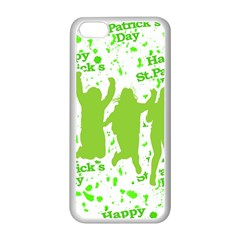 Saint Patrick Motif Apple iPhone 5C Seamless Case (White)