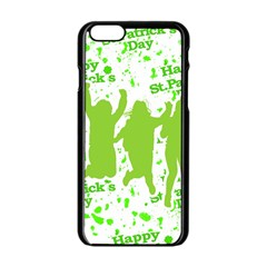 Saint Patrick Motif Apple iPhone 6/6S Black Enamel Case