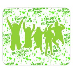 Saint Patrick Motif Double Sided Flano Blanket (Small)