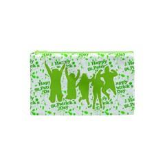 Saint Patrick Motif Cosmetic Bag (XS)