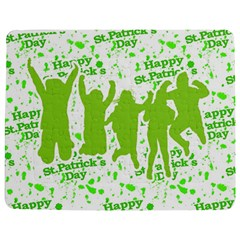 Saint Patrick Motif Jigsaw Puzzle Photo Stand (Rectangular)