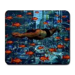 Urban swimmers   Large Mousepads
