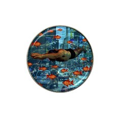 Urban swimmers   Hat Clip Ball Marker