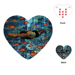 Urban swimmers   Playing Cards (Heart)
