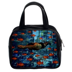 Urban swimmers   Classic Handbags (2 Sides)