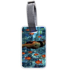 Urban swimmers   Luggage Tags (One Side)