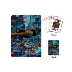 Urban swimmers   Playing Cards (Mini)