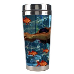Urban swimmers   Stainless Steel Travel Tumblers