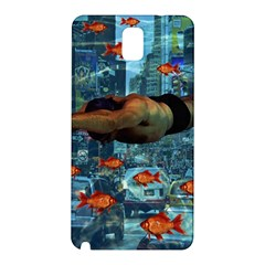 Urban swimmers   Samsung Galaxy Note 3 N9005 Hardshell Back Case