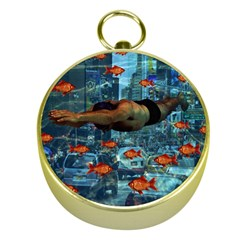 Urban swimmers   Gold Compasses