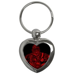 Warrior - red Key Chains (Heart)