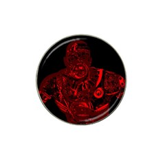Warrior - red Hat Clip Ball Marker (10 pack)