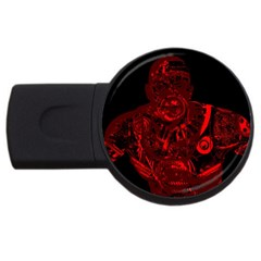 Warrior - red USB Flash Drive Round (4 GB)