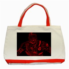 Warrior - red Classic Tote Bag (Red)