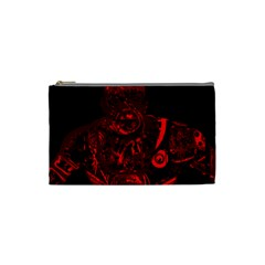 Warrior - red Cosmetic Bag (Small)