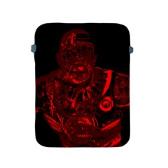 Warrior - red Apple iPad 2/3/4 Protective Soft Cases