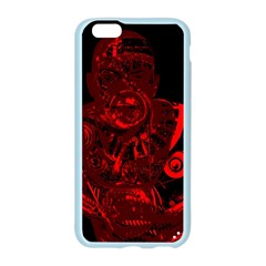Warrior - red Apple Seamless iPhone 6/6S Case (Color)