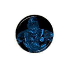 Warrior - Blue Hat Clip Ball Marker (4 pack)