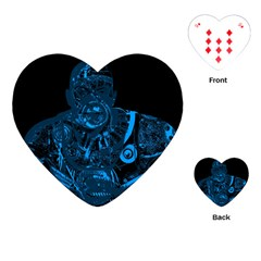 Warrior - Blue Playing Cards (Heart)