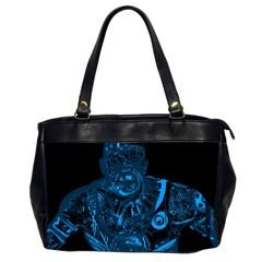Warrior - Blue Office Handbags (2 Sides)