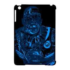 Warrior - Blue Apple iPad Mini Hardshell Case (Compatible with Smart Cover)