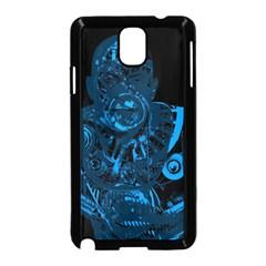 Warrior - Blue Samsung Galaxy Note 3 Neo Hardshell Case (Black)
